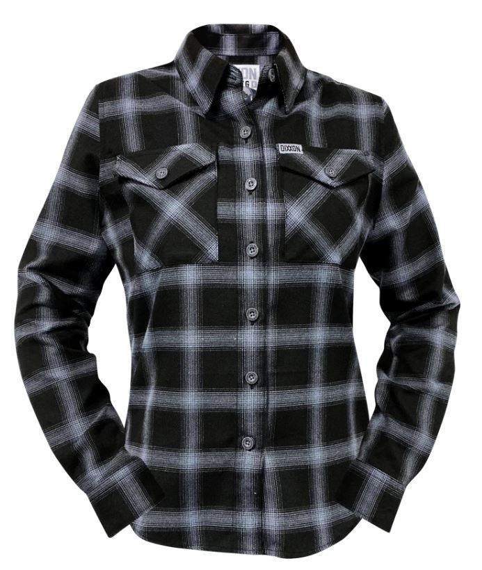 Women's Mission K-9 Charity Flannel