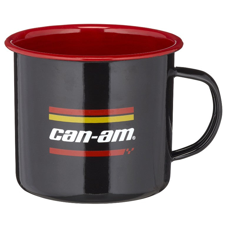 CAN-AM ON-ROAD ENAMEL MUGS - SET OF 2