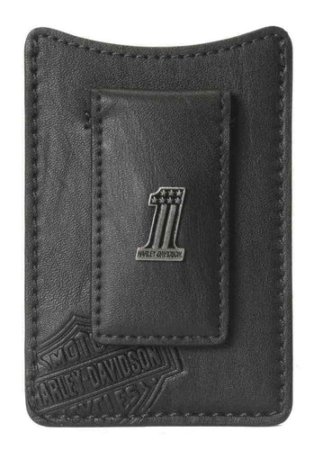 Harley-Davidson® Men's Front Pocket Wallet, #1 Medallion