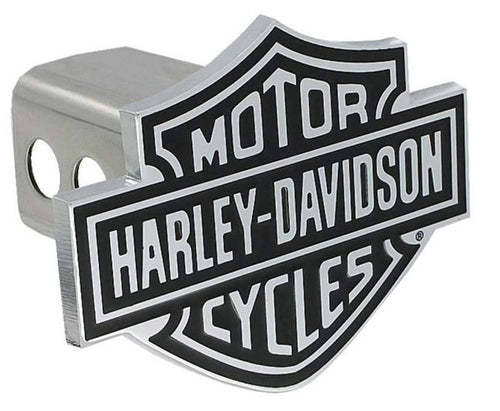 Harley-Davidson® Bar & Shield Trailer Hitch Cover 2'' Stainless Steel