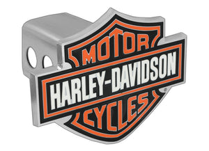 Harley-Davidson® Hitch Cover Orange B&S
