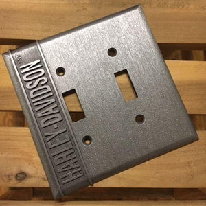 DOUBLE SWITCH PLATE COVER