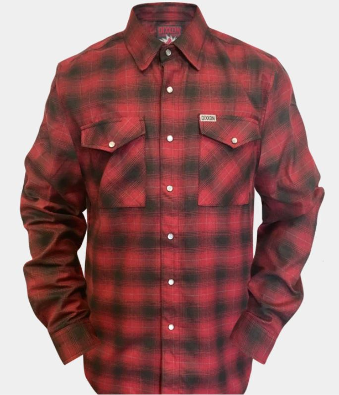 OXBLOOD 2020 FLANNEL