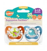 Ulubulu Pacifer 2pc Set - Green/ Blue Monster Collection 6 - 18 Months