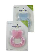 Silicone teether toy heart shape