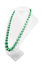 Chewy Jewels Silicone Teething Necklace - Radiant Mint