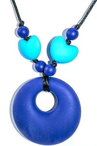 Chewy Jewels Mothers Heart Blue