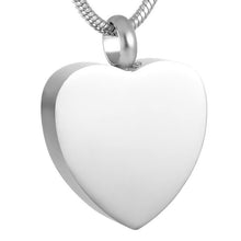 Memorial Urn Heart Necklace