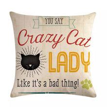 Decorative Cat Cushion Covers