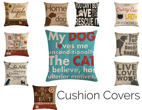 Decorative Dog Cushion Covers