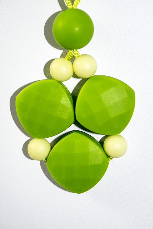 Chewy Jewels Silicone Teething Necklace - Spring Meadow