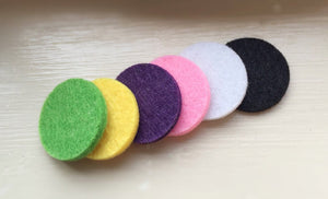 Essential oil diffuser pads