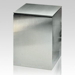 Stainless Steel Rectangular Momerial Pet Urn