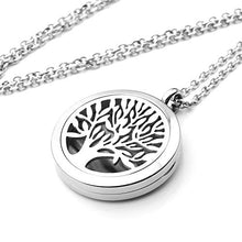 Essential oil Diffuser Necklace - Tree of Life