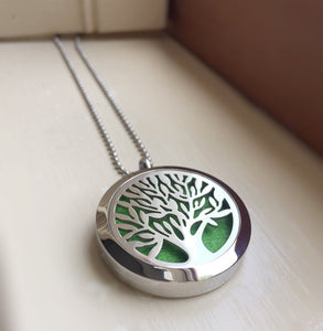 Tree of Life - Aromatheraphy Essential Oils diffuser necklace