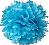 "(Set of 5) - 8"" Tissue Paper Pom Poms - Other Colors Available"