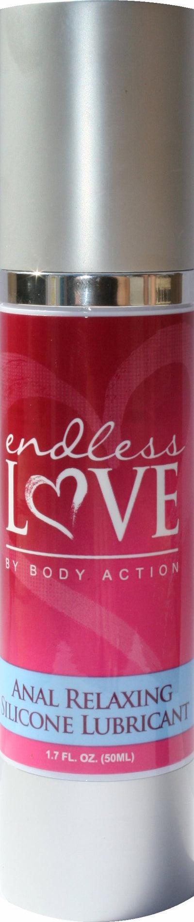 Endless Love Anal Relaxing Silicone Lube 1.7 Oz.