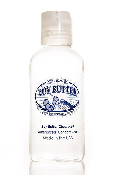 Boy Butter Lubricant Clear 4 Oz.