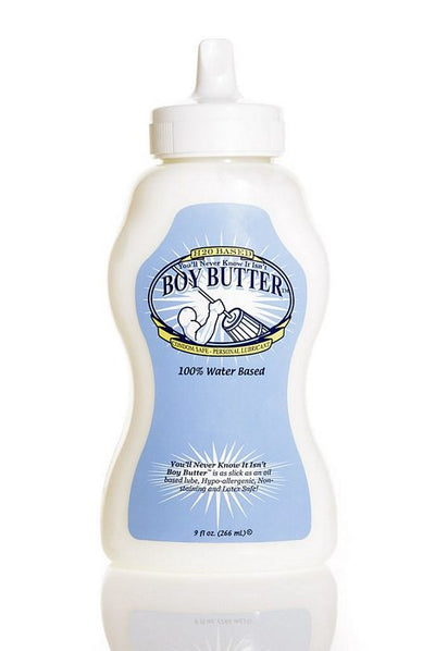 Boy Butter H2o Formula 9 Oz. Squeeze Bottle