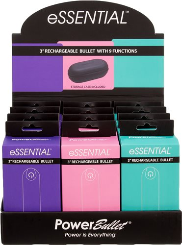 Power Bullet Essential 3.5in Rechargeable Bullet Display