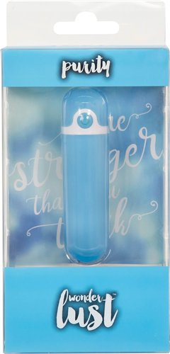 Wonderlust Purity Bullet Blue Rechargeable