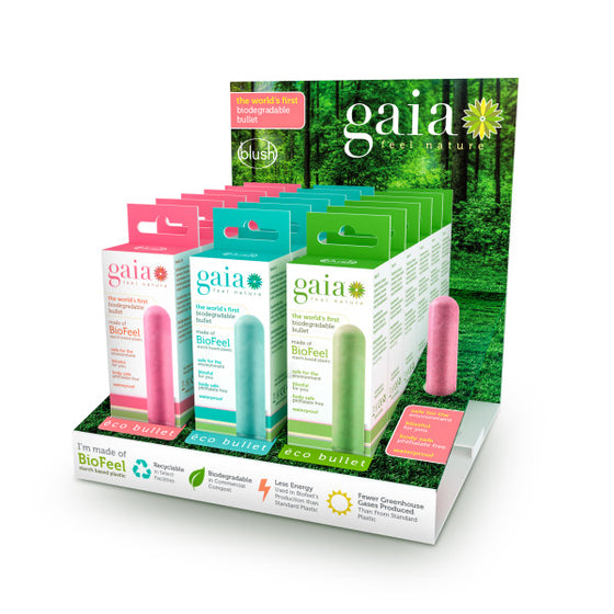Gaia Eco Bullet 18 Pieces Display