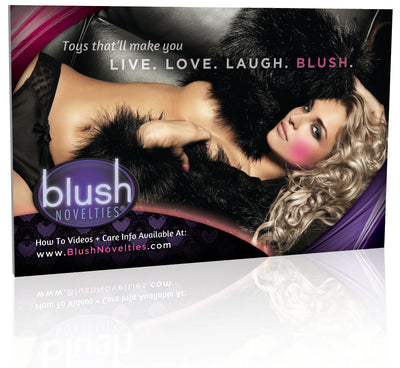 Blush Novelties Shelf Talker