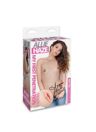 Allie Haze My 1st Penetration Stroker