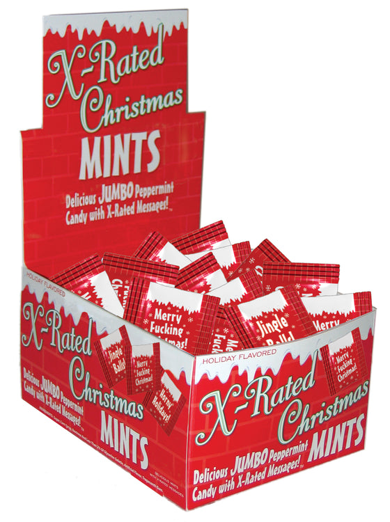 Xmas Amusemints 100 Pieces Display