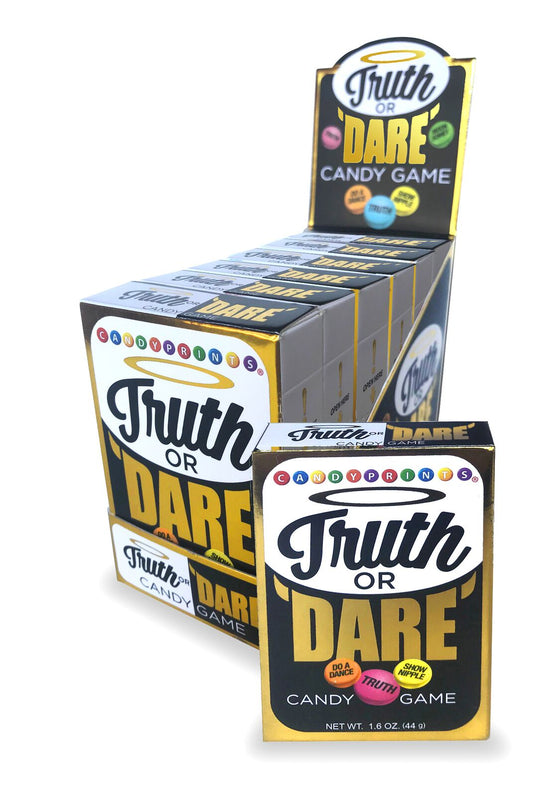 Truth Or Dare Candy 6 Pieces Display