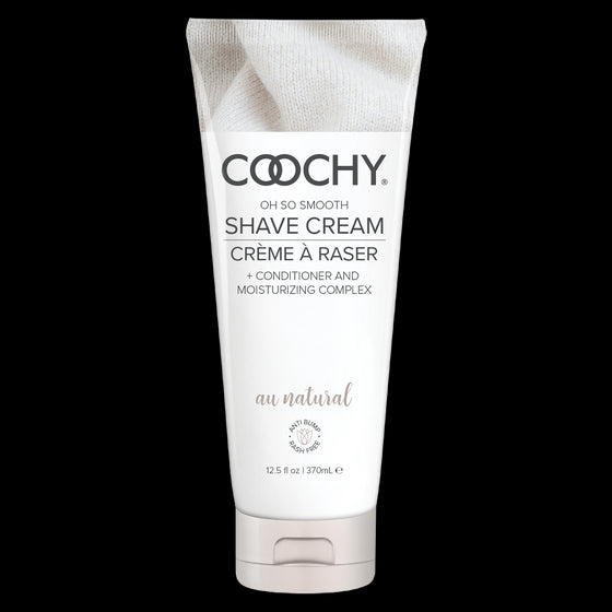 Coochy Shave Cream Au Natural 12.5 Oz.