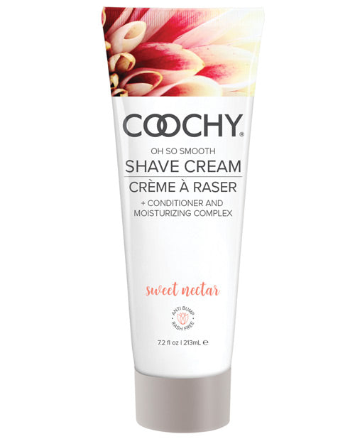 Coochy Shave Cream Sweet Nectar 7.2 Oz.