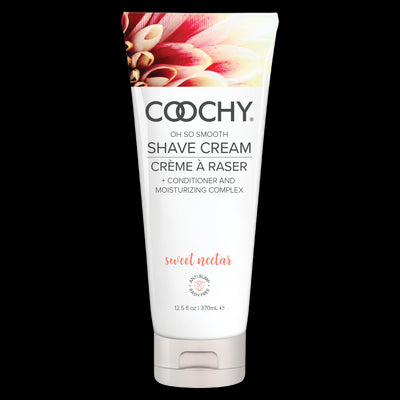 Coochy Shave Cream Sweet Nectar 12.5 Oz.