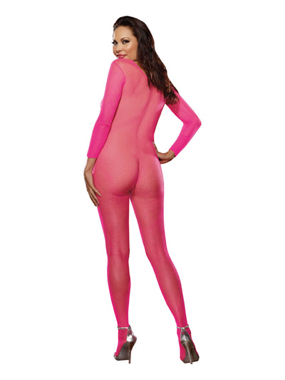 Body Stocking Neon Pink Queen