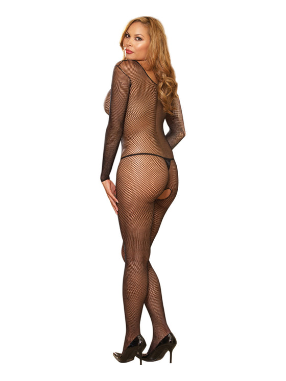 Body Stocking Black One Size Queen Inamsterdamin