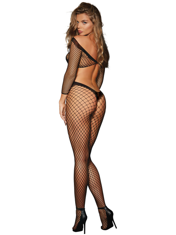 Bodystocking Black One Size