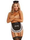 French Maid Fantasy Black One Size