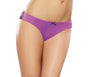 Cheeky Panty Small Iris/ Black