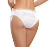 Bride Panty White Large