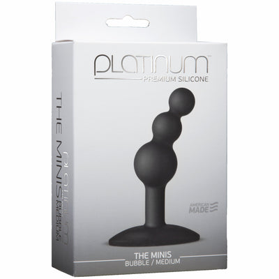 Platinum Minis Bubble Medium Black
