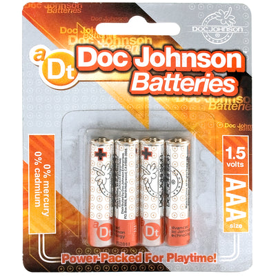 Doc Johnson Batteries Aaa 4 Pack