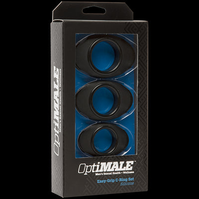 Optimale Easy Grip C Ring Set Black