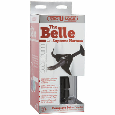 Belle WSupreme Harness Charcoal