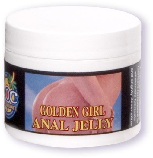 Golden Girl Anal Jelly 2 Oz.