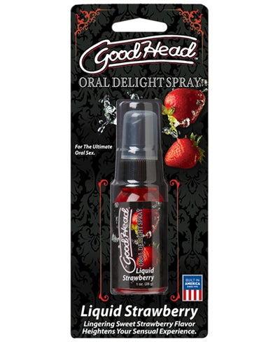Goodhead Liquid Strawberry Spray 1 Oz.