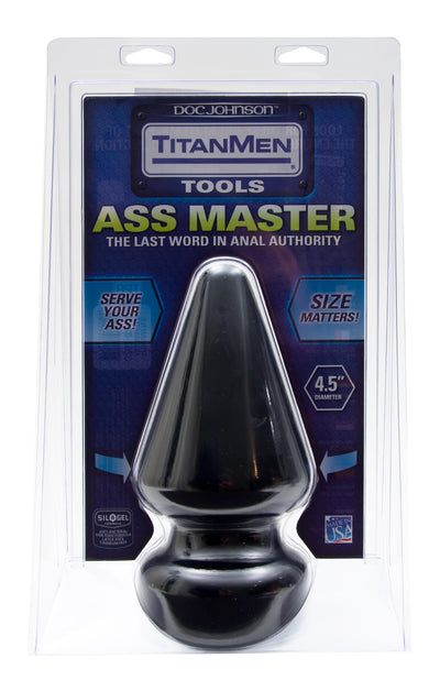 Titanmen Butt Plug 4.5in Dia. Ass Master