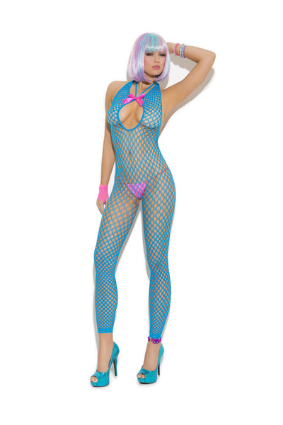 Vivace Bodystocking Neon Blue One Size