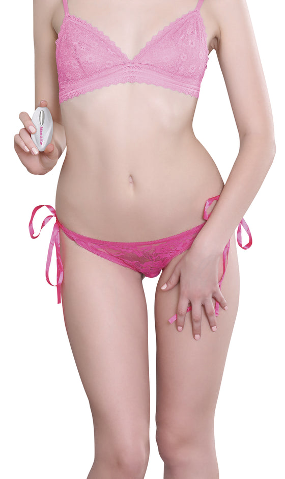 Adam & Eve Vibrating Panty With Remote Rechargeable