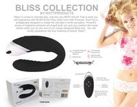 Bliss - Envy - Dual Vibration Ultimate G Spot Play Vibrator Black