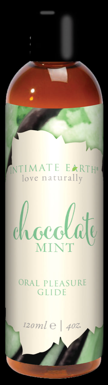 Intimate Earth Chocolate Mint Glide 4 Oz.